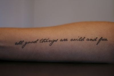 I Want A Tattoo About Being A Free Spirit And I Really Love This