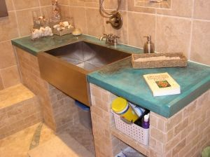 Best Stained Concrete Countertops Stained Concrete Countertop 640 x 480