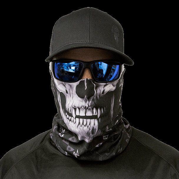 Face Shield Balaclava Gaiter USA TACTICALNAVY SKULL Salt Armour SA Co