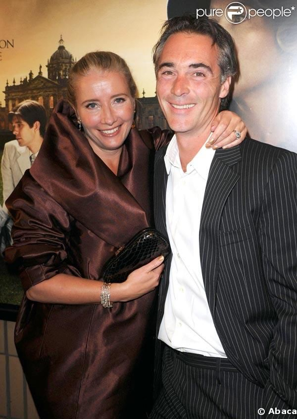 Emma Thompson & Greg Wise. Emma married Willoughby!