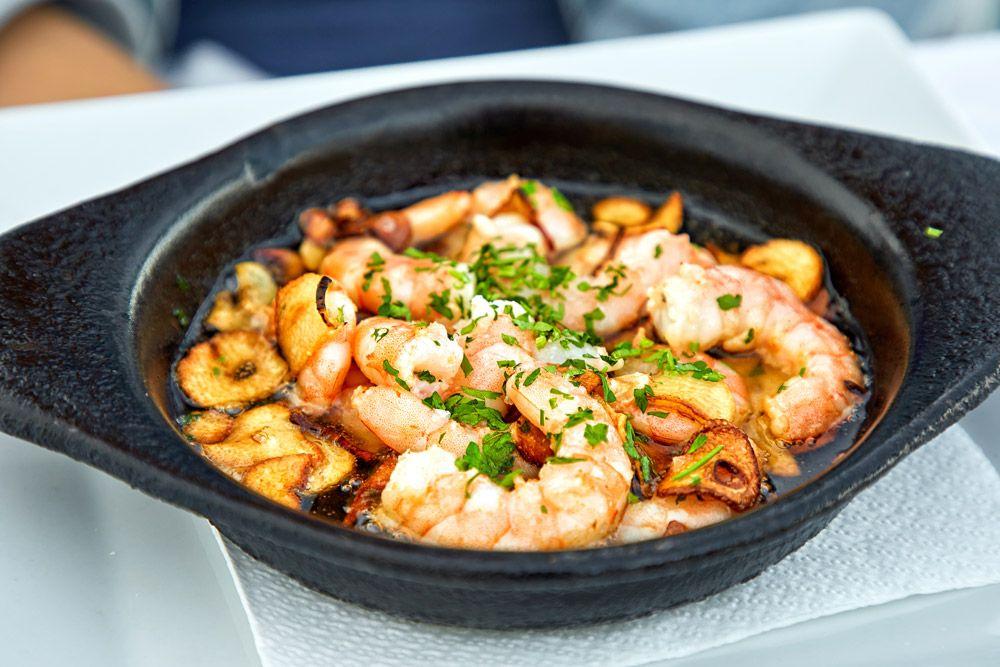 10 Best Foods to Eat in Spain Food, Prawns appetizers