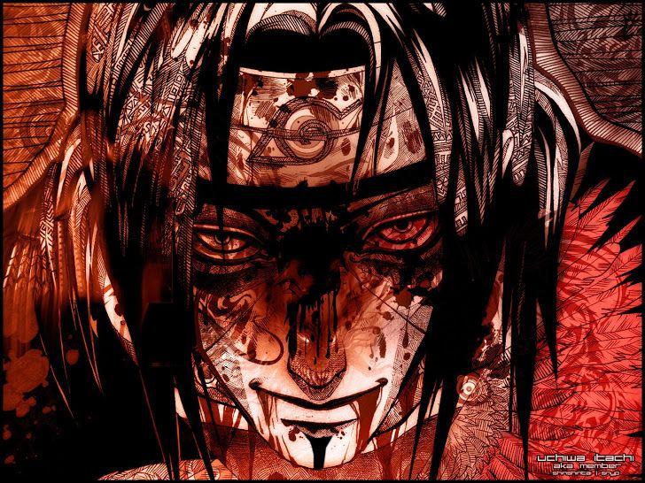 itachi uchiha wallpaper hd anime boy blood wound 1920x1400 a713