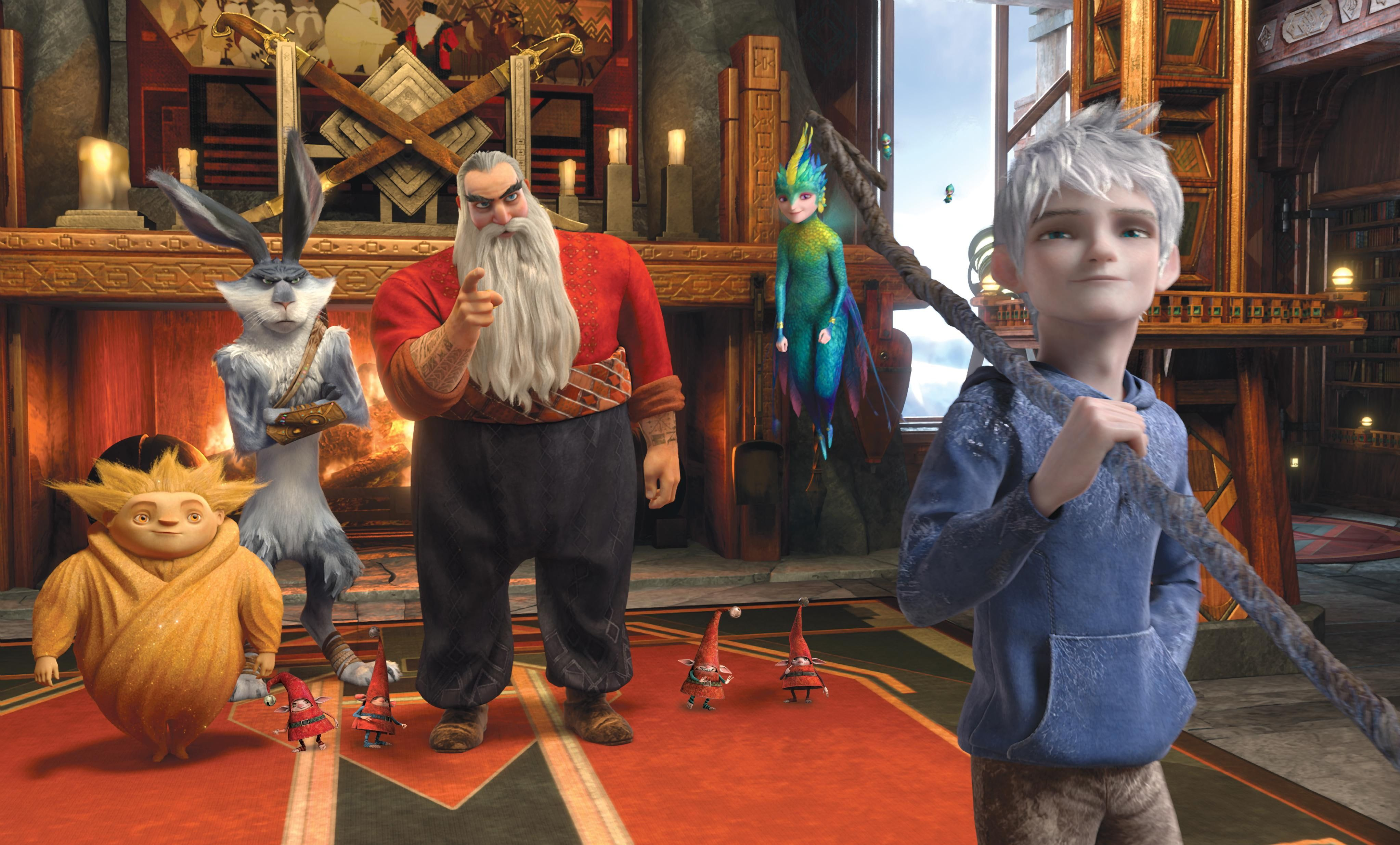 Santa Claus Rise Of The Guardians Ice Jack Tooth Fairy Sandman Fantasy Cartoon Easter Bunny San Rise Of The Guardians The Guardian Movie Guardian Review