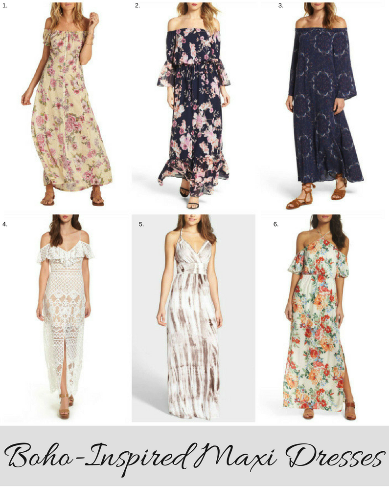 Bohemianchic maxi dresses to live in all summer long summer maxi
