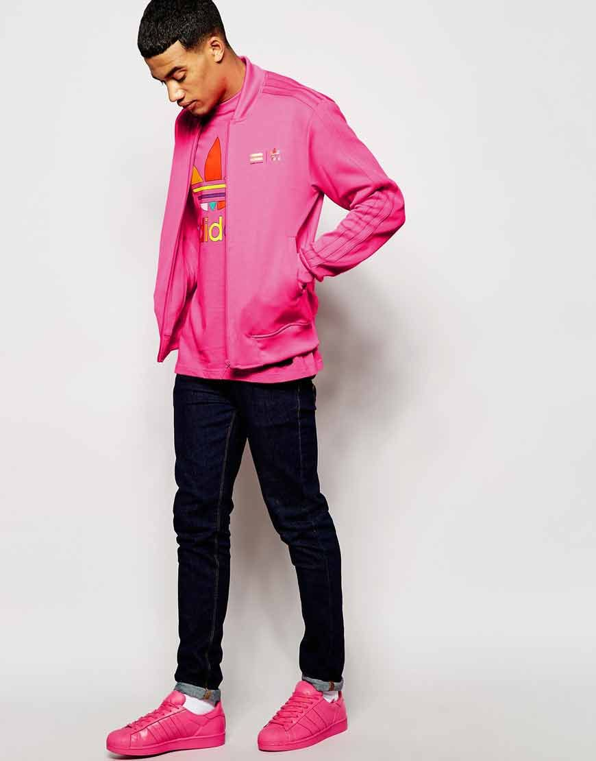 37dfe3ac2 Adidas Originals X Pharrell Williams Supercolour Solar Pink