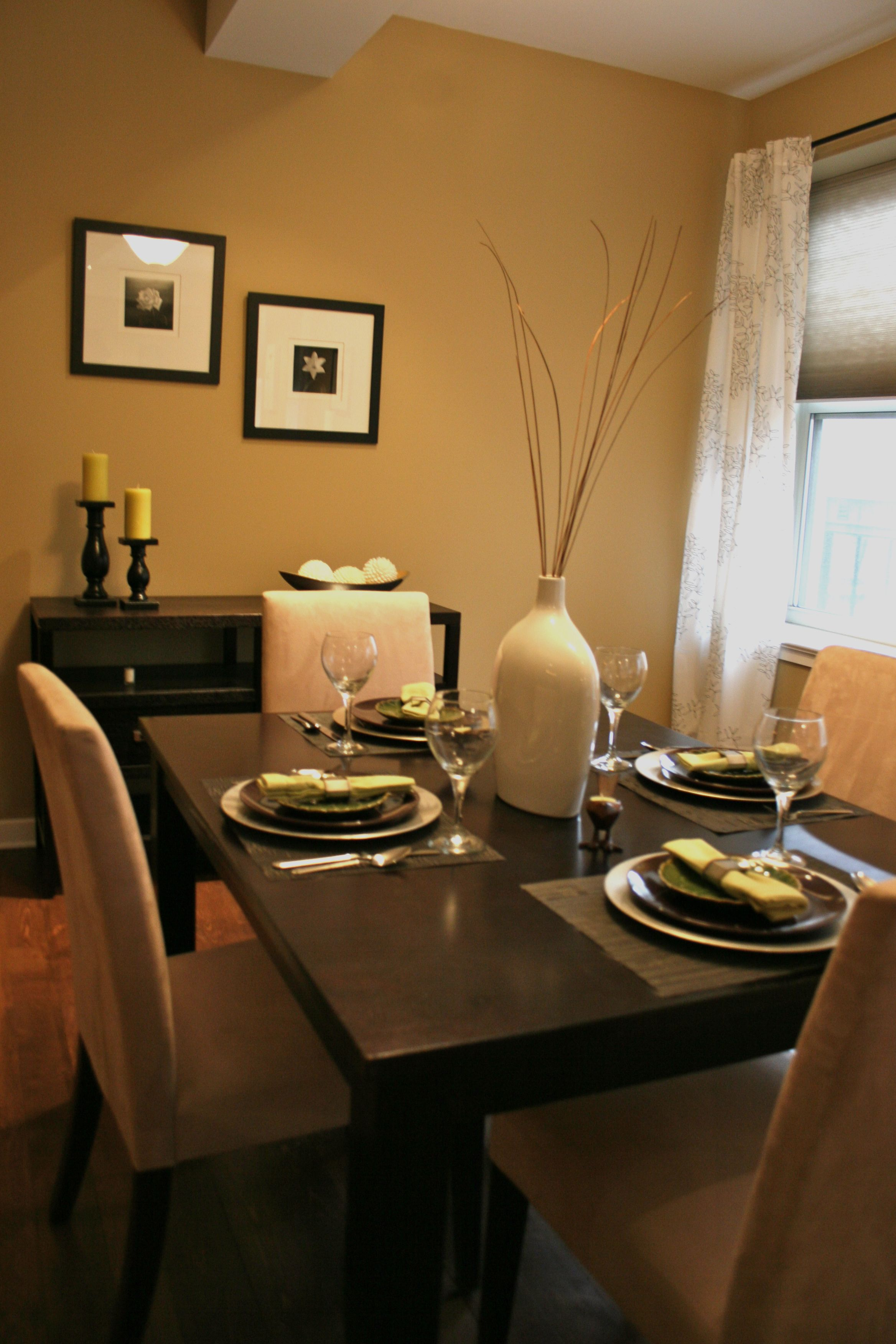 Diary Of A Worker Bee Warm Dining Room Dining Room Colors