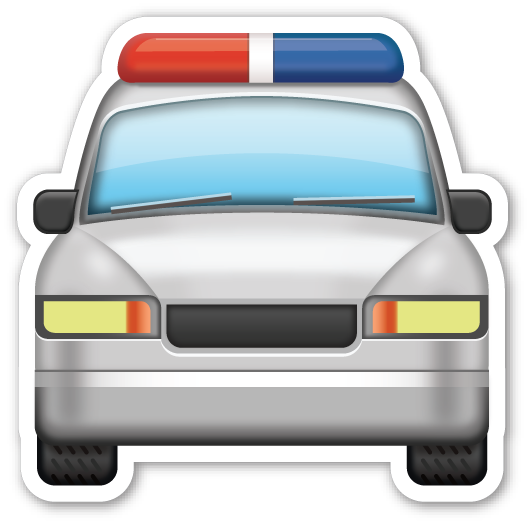 Oncoming Police Car Festa Da Policia Desenhos De Carros Policia