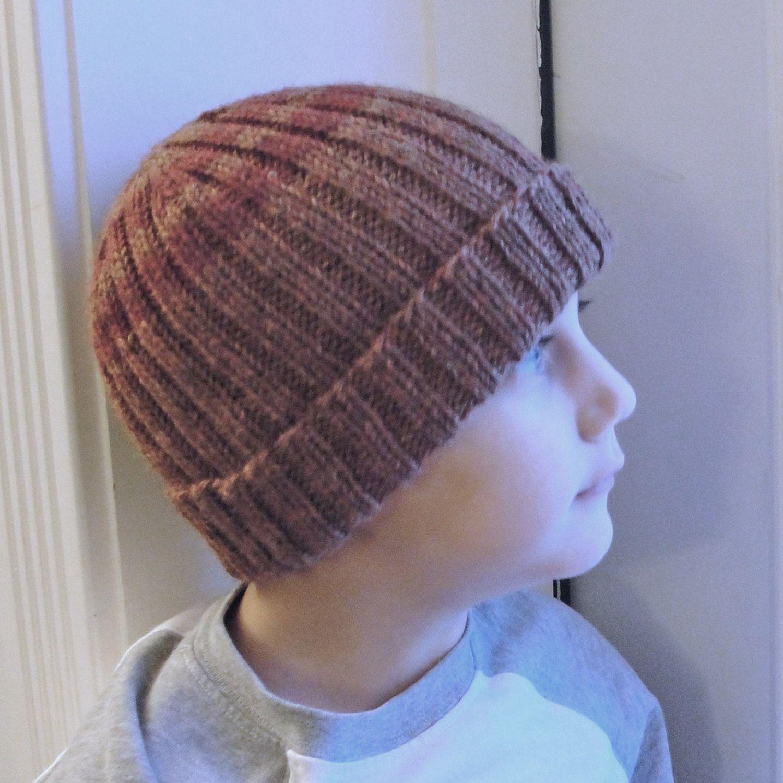 Knit Hat Pattern Pdf Men S Women S Children S Beanie