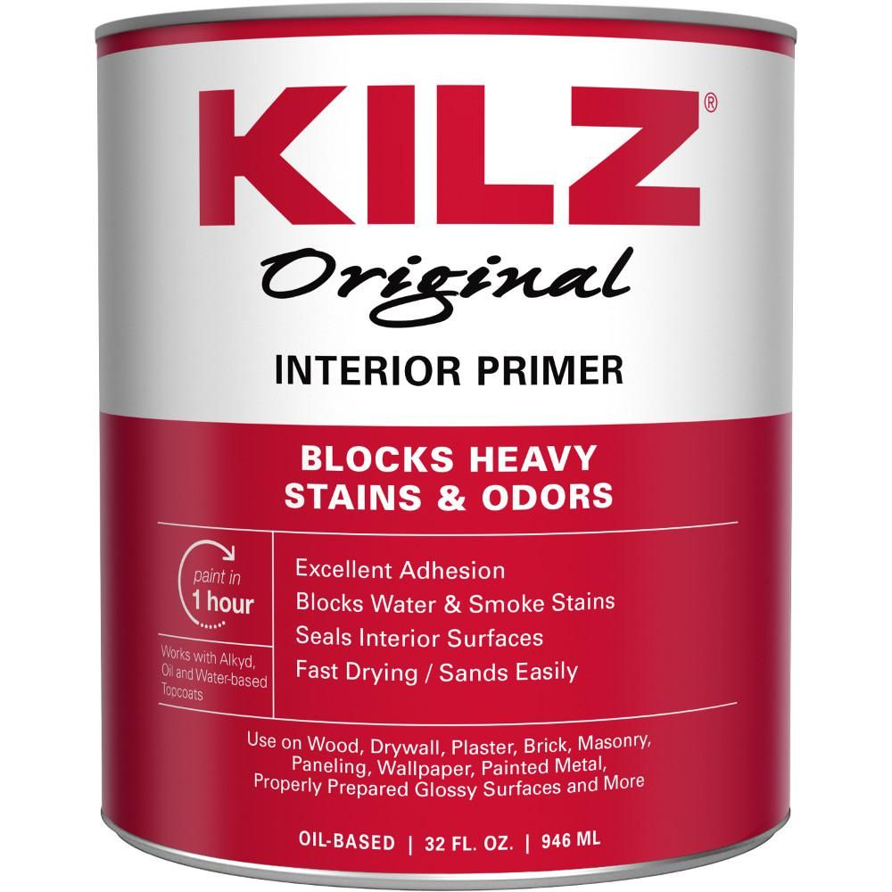 KILZ Original 1 qt. White OilBased Interior Primer