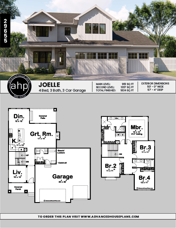 2 Story Modern Farmhouse Style Plan Joelle House Plans Farmhouse Cottage Style House Plans Farmhouse House