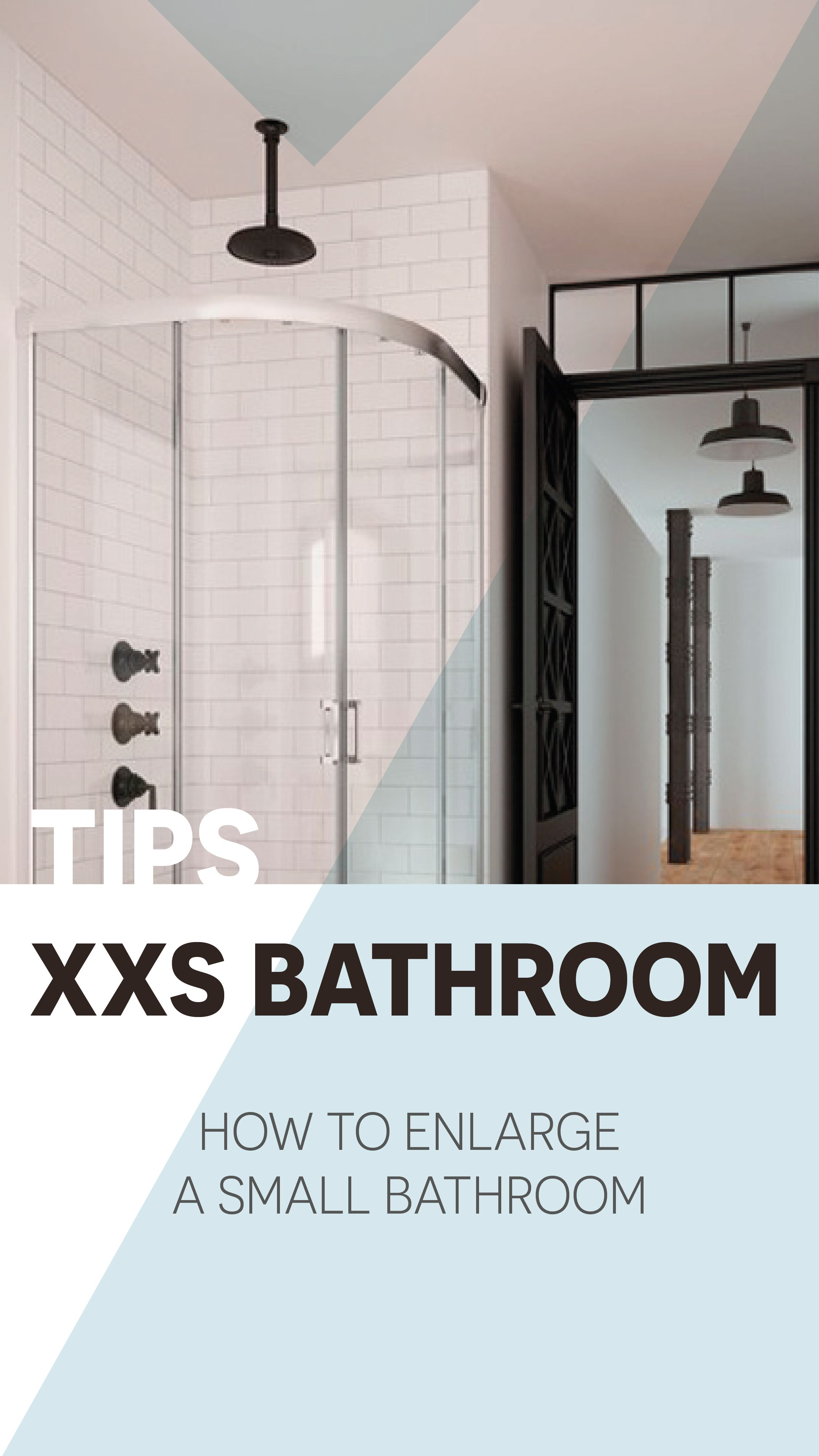 XXS bathroom tips: great functionality and beauty in compact ...
