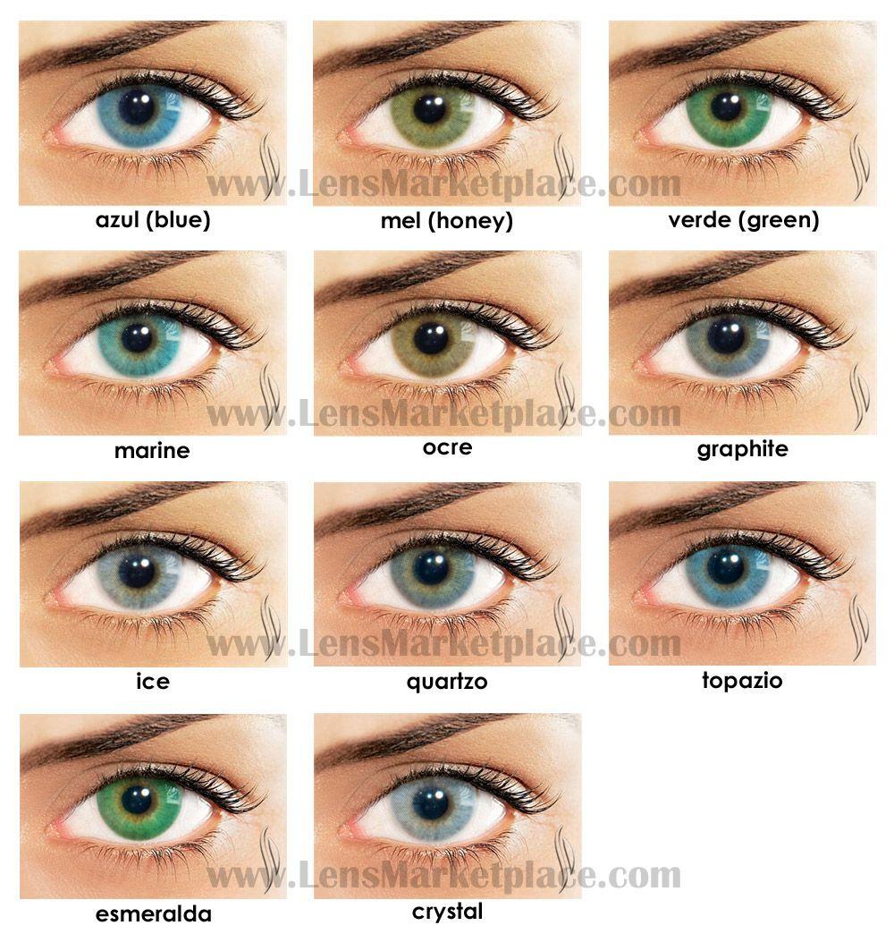 2768afecec Solotica Hidrocor Color Contact Lenses | Lens Marketplace #eye #color  #contacts Brazilian Colored Contact Lenses