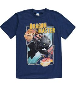 "How to Train your Dragon fans out there? Check out this boys ""Dragon Master"" T!"