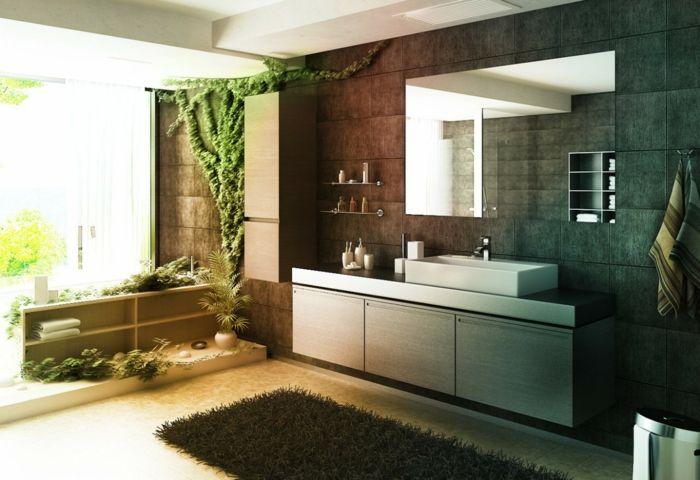 bad renovieren teppich Badezimmer Ideen \u2013 Fliesen, Leuchten, Möbel - badezimmer ohne fliesen