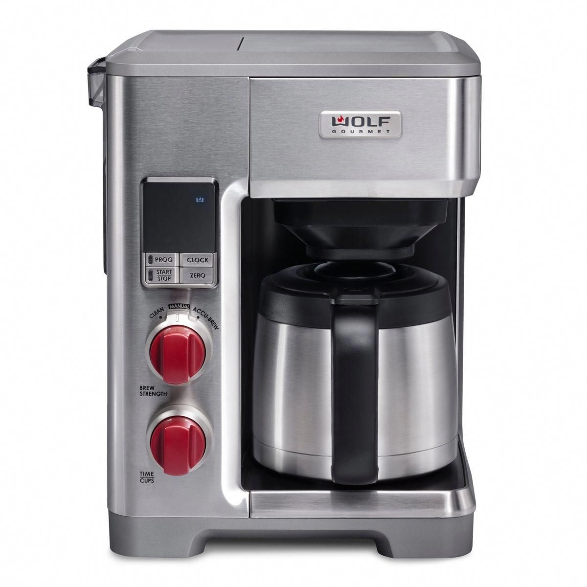 Coffee Brewer With Timer In 2020 Wolf Gourmet Drip Coffee Maker Coffee Maker Reviews