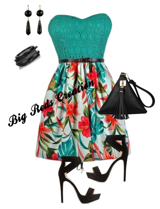 Keep It Simple by bigreds on Polyvore featuring polyvore, fashion, style, Qupid, Kenneth Jay Lane and clothing