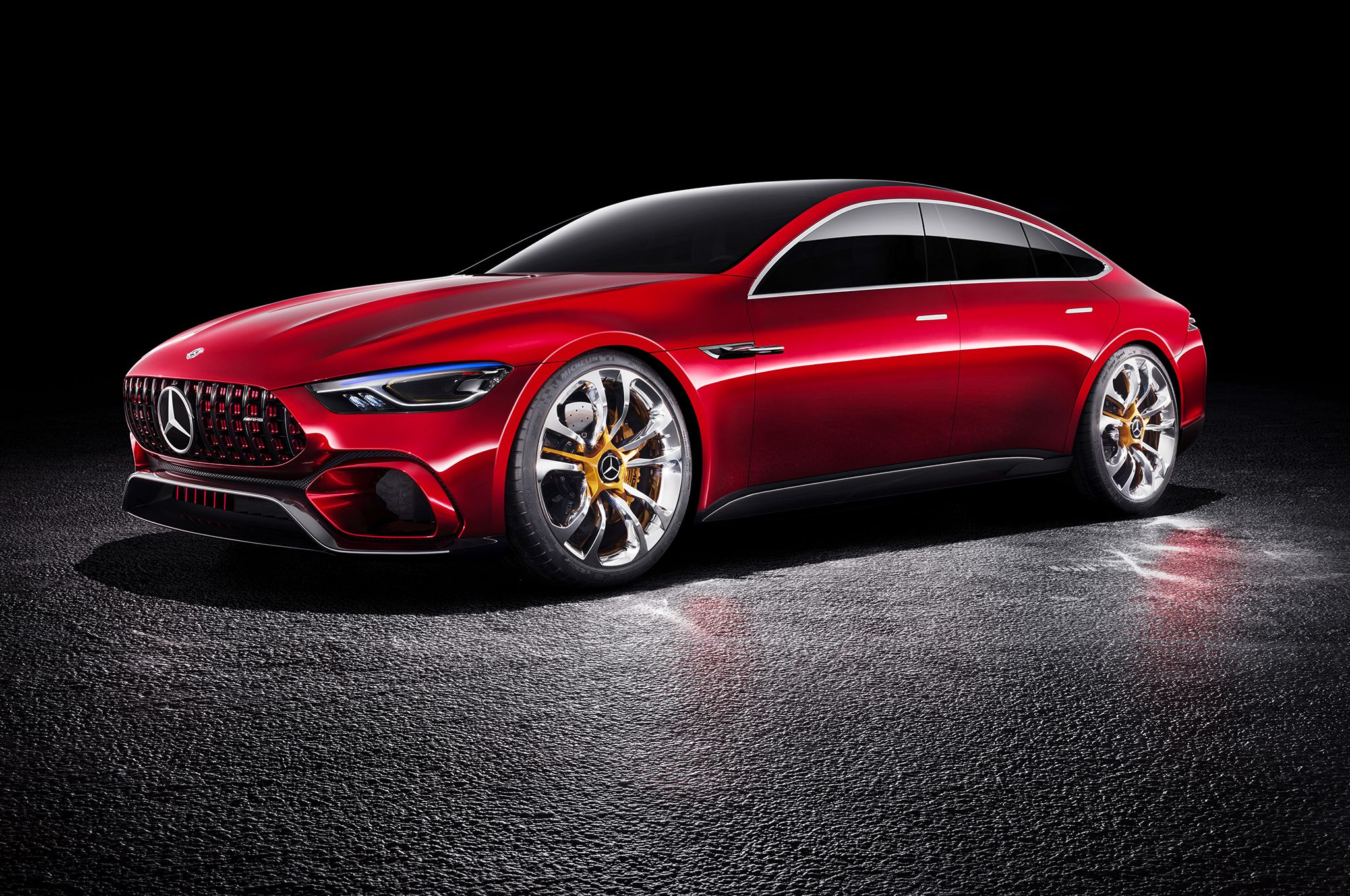 Mercedes Amg Gt Concept First Look Review Mercedes Benz Amg