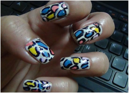 50 Animal Themed Nail Art Designs To Inspire You Leopard Nail Art