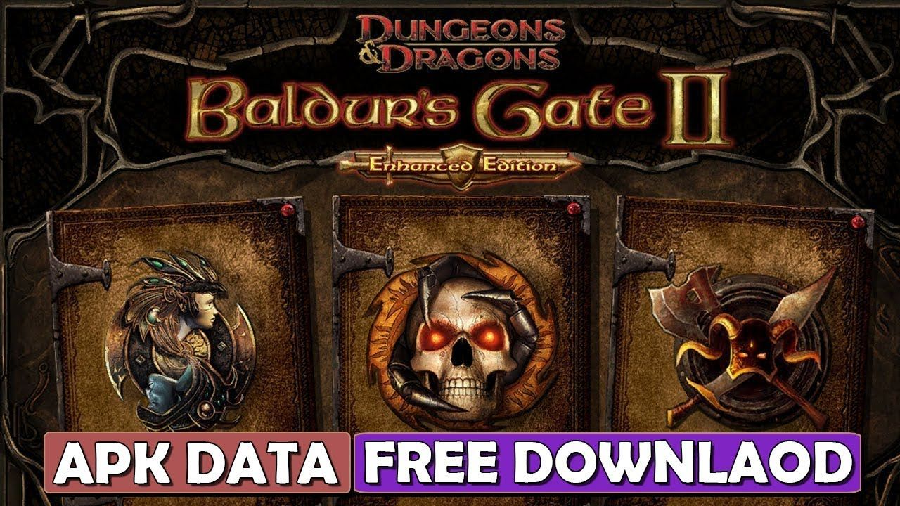 baldurs gate enhanced edition apk + data