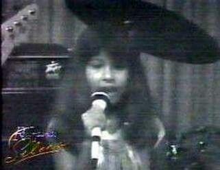 Selena Quintanilla Perez As A Child
