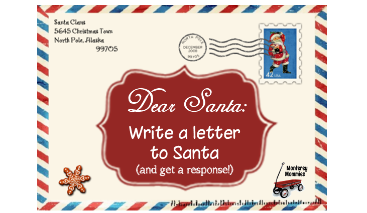 Dear Santa How to Write to Santa Claus (And Get a