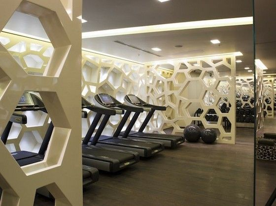 Luxurious Spa Center In Istanbul By Hba Pursuitist Fitness Center Design Gym Interior Spa Interior