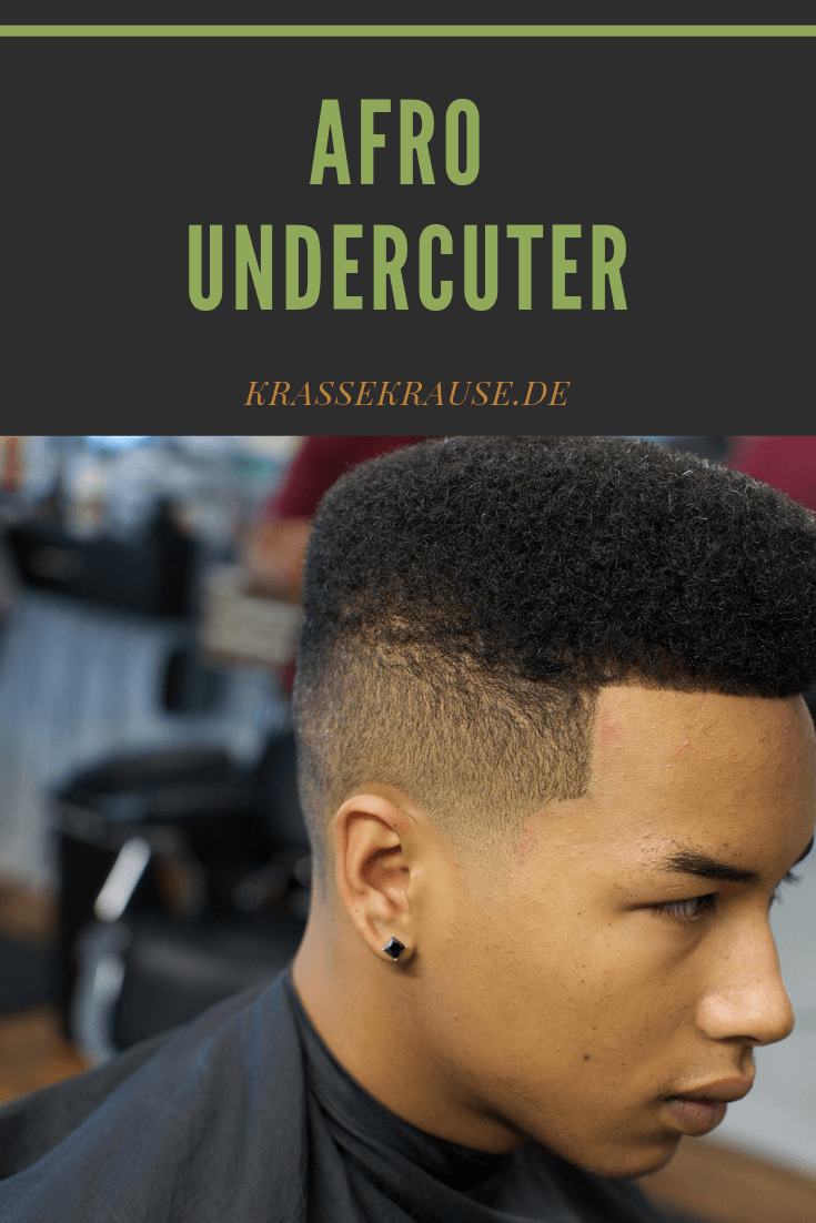 Afro Undercuter Afro Haare Afro Naturliche Frisuren