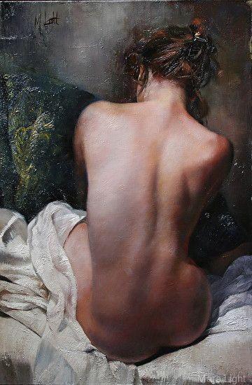 Back Study36x24 by Mara Light Oil ~ 36 x 24
