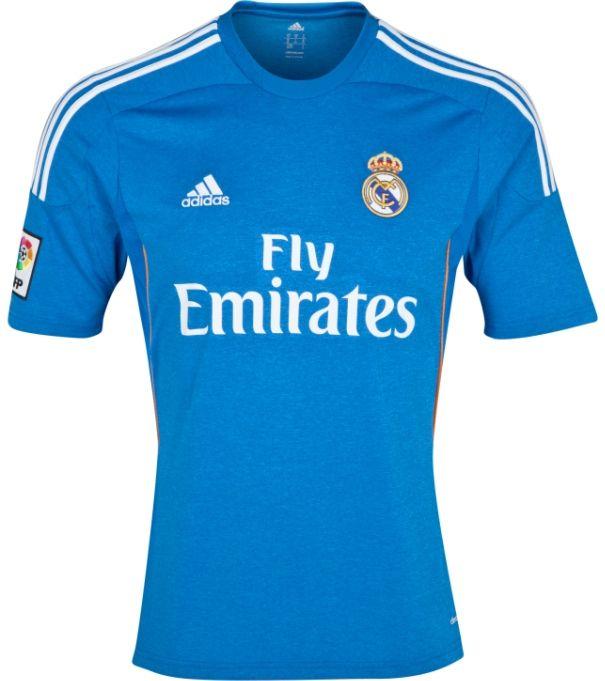 Real Madrid - Away - 2013/14 - Adidas, Fly Emirates