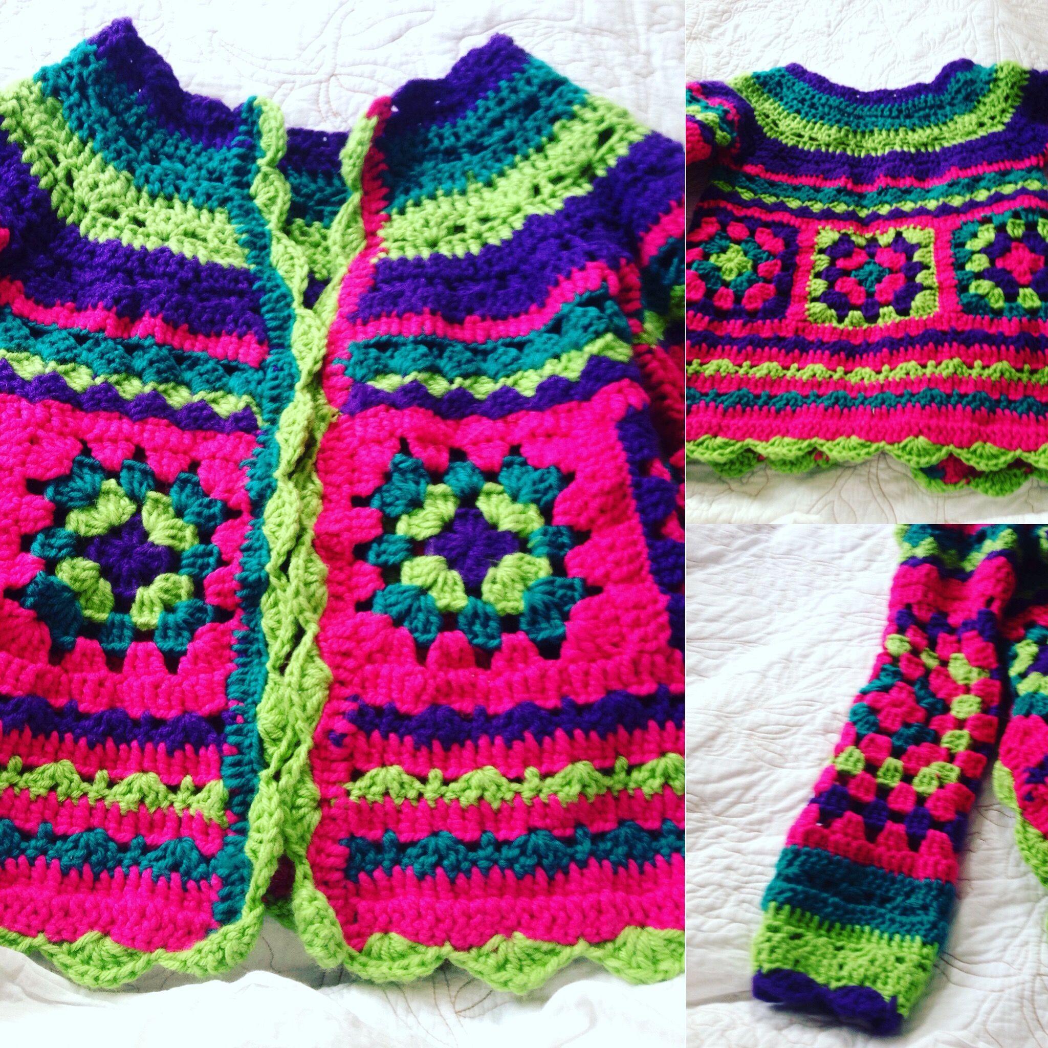 Chaleco Tejido A Crochet Combinacion De Colores Y Puntos Tejidos Crochet Chalecos Ganchillo Chaleco Ganchillo