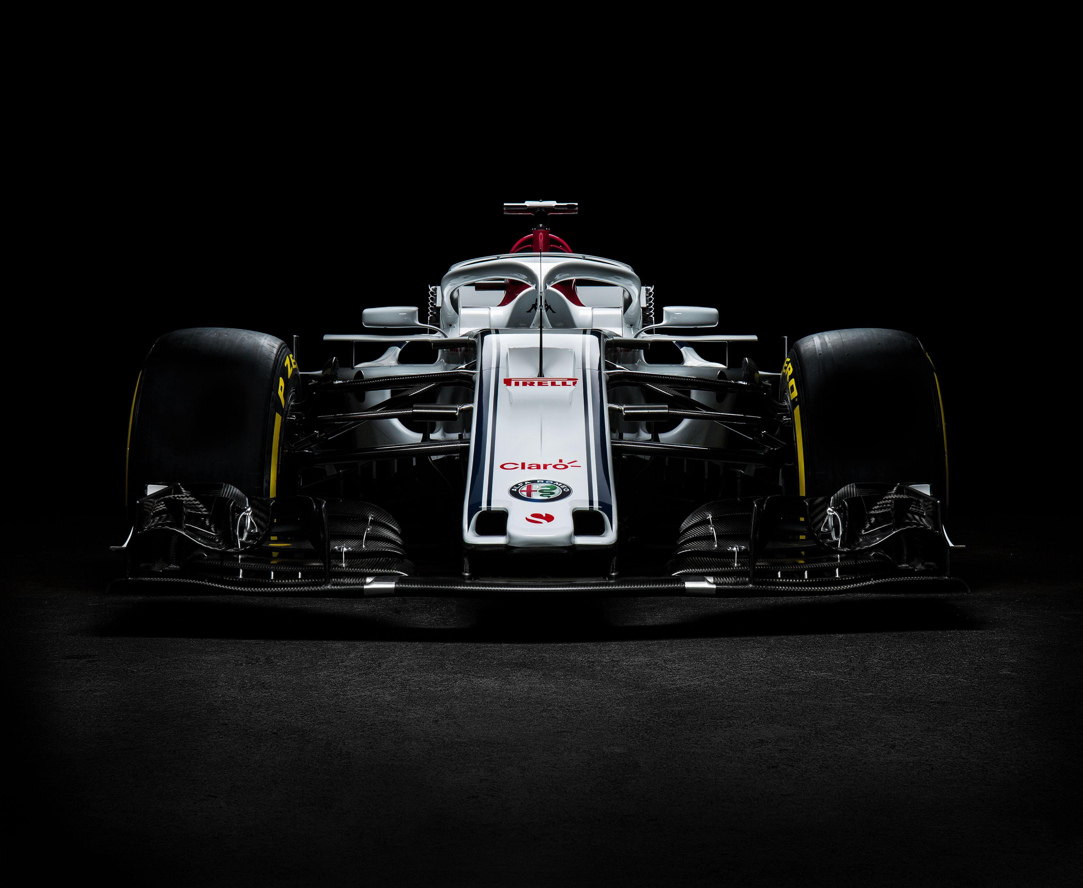 Alfa Romeo Sauber F1 Front View Car Sports Car Wallpaper Racing