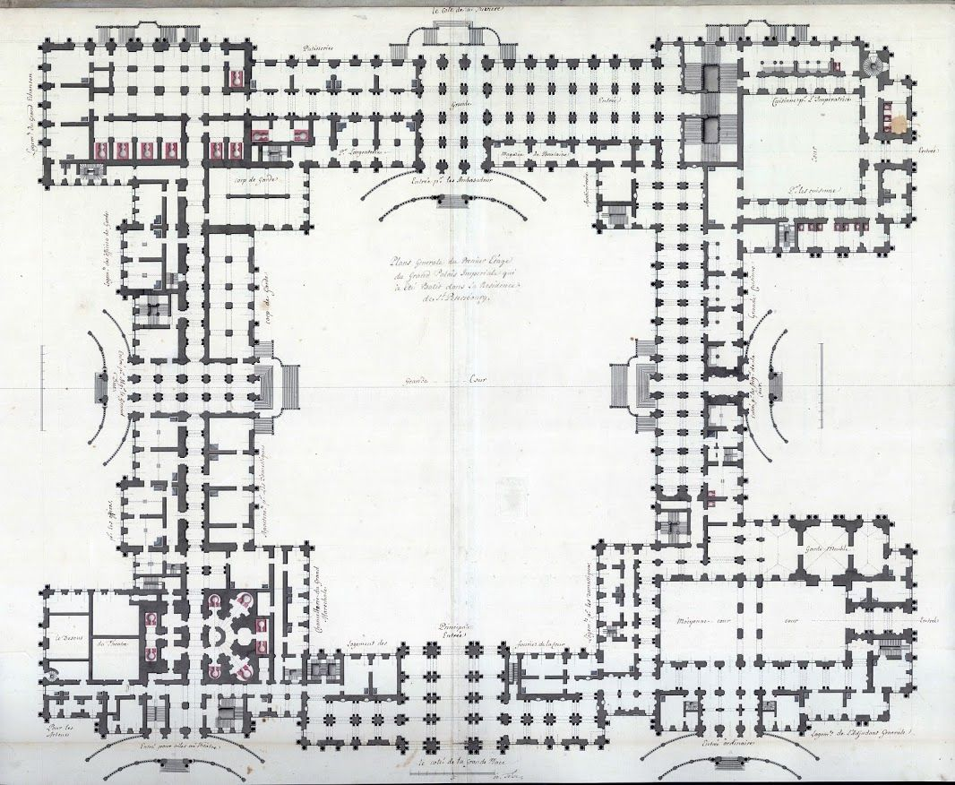 Ground floor plan of the winter palace russia 39 s heritage for Palace plan