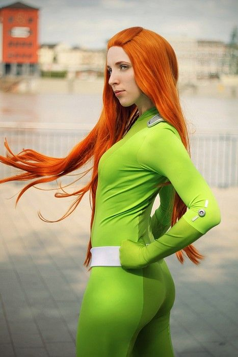 Sam cosplay from totally spies cosplay pinterest - Deguisement totally spies adulte ...