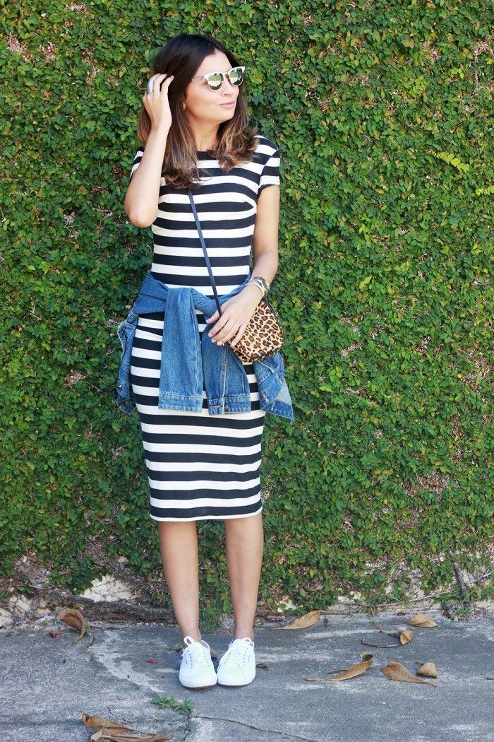 144ec19d7d vestido-listras-preto-branco-joelho