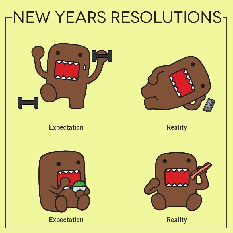 Pin by Asma Abzakh on Domo New years resolution, Cute