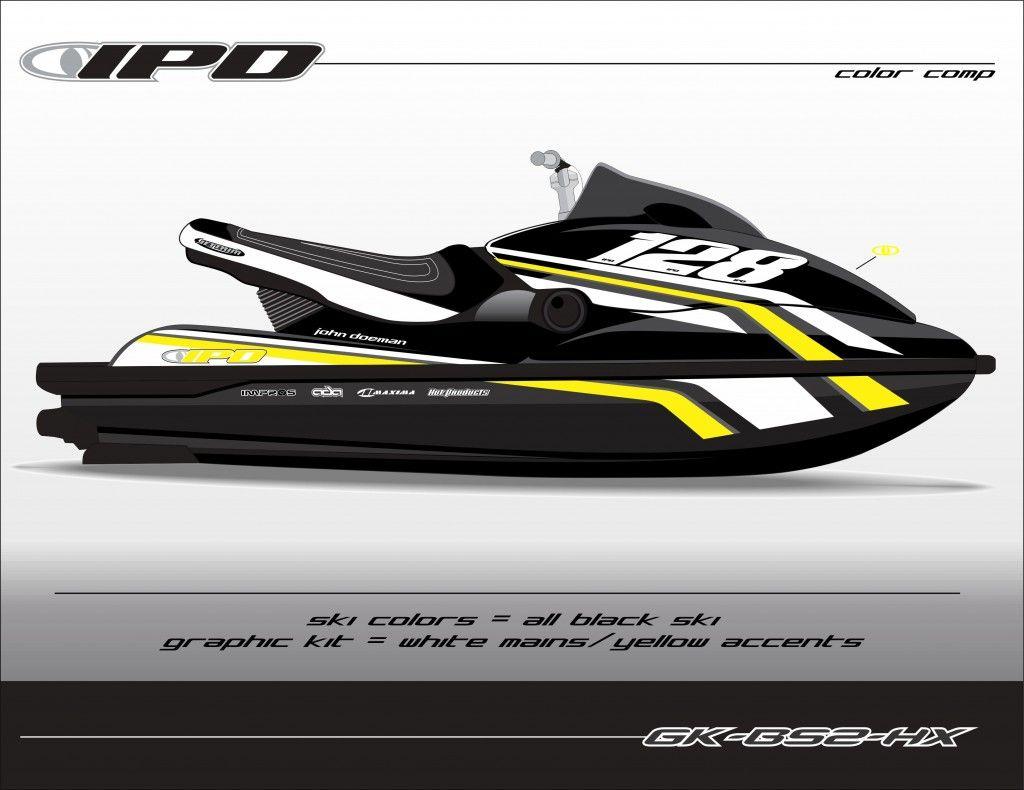 Sea Doo Gen 1 Rx Rxp Rxp X Rec Graphics Kit Kw Design Ipd Jet Ski Graphics Transportnoe Sredstvo
