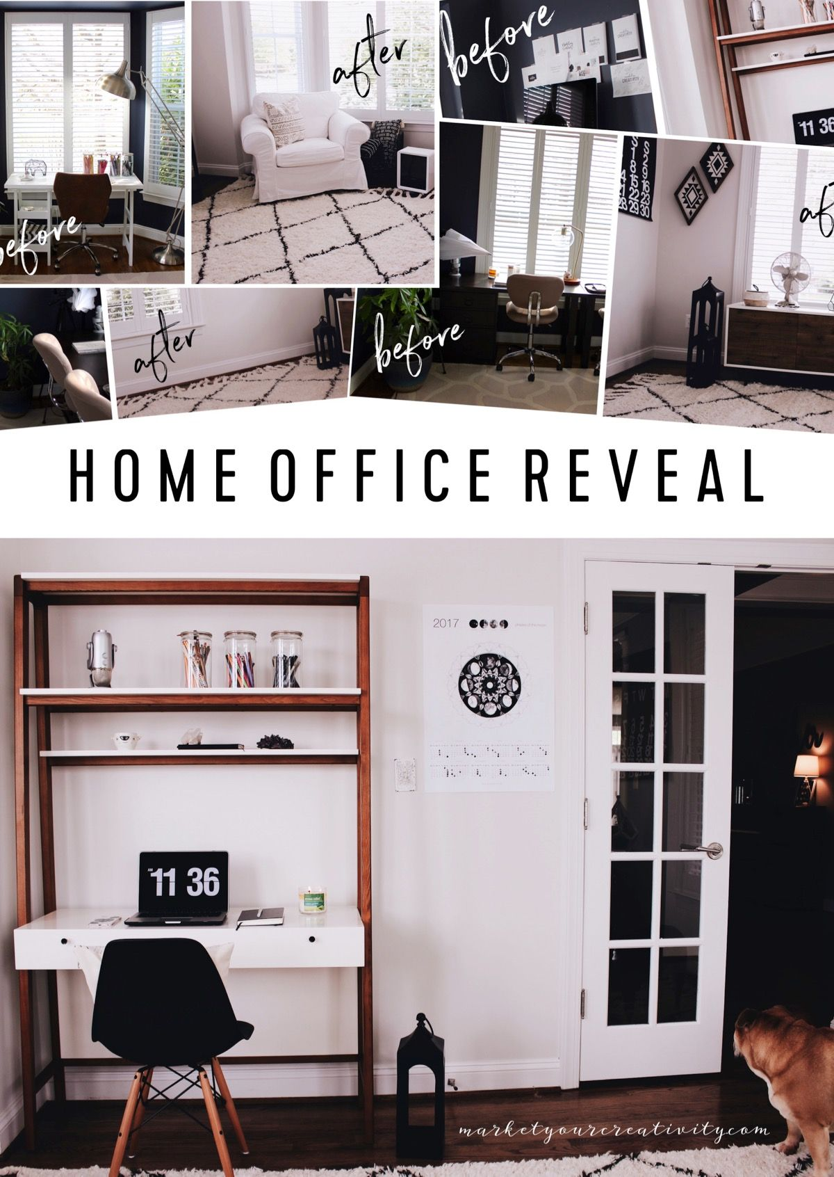 Charming Tons Of Before And After Photos Home Office Design, Creative Design