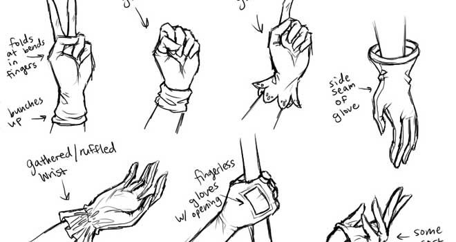 Collection of how to draw hands tutorials ninja crunch