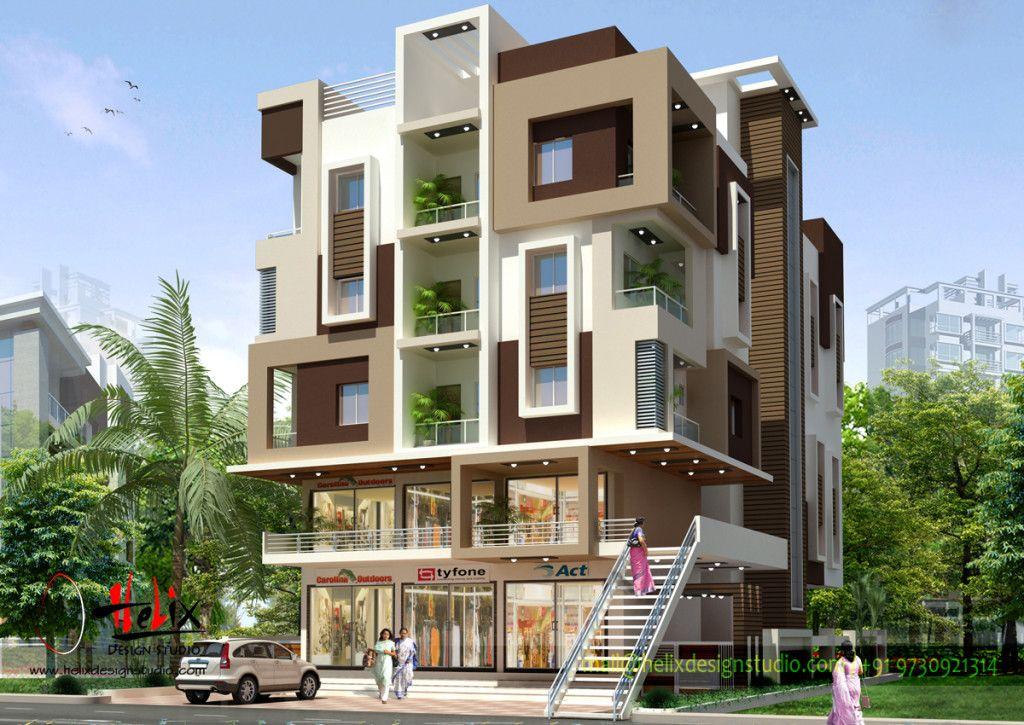 Exteriors - Helix Design Studio | Residential building ...