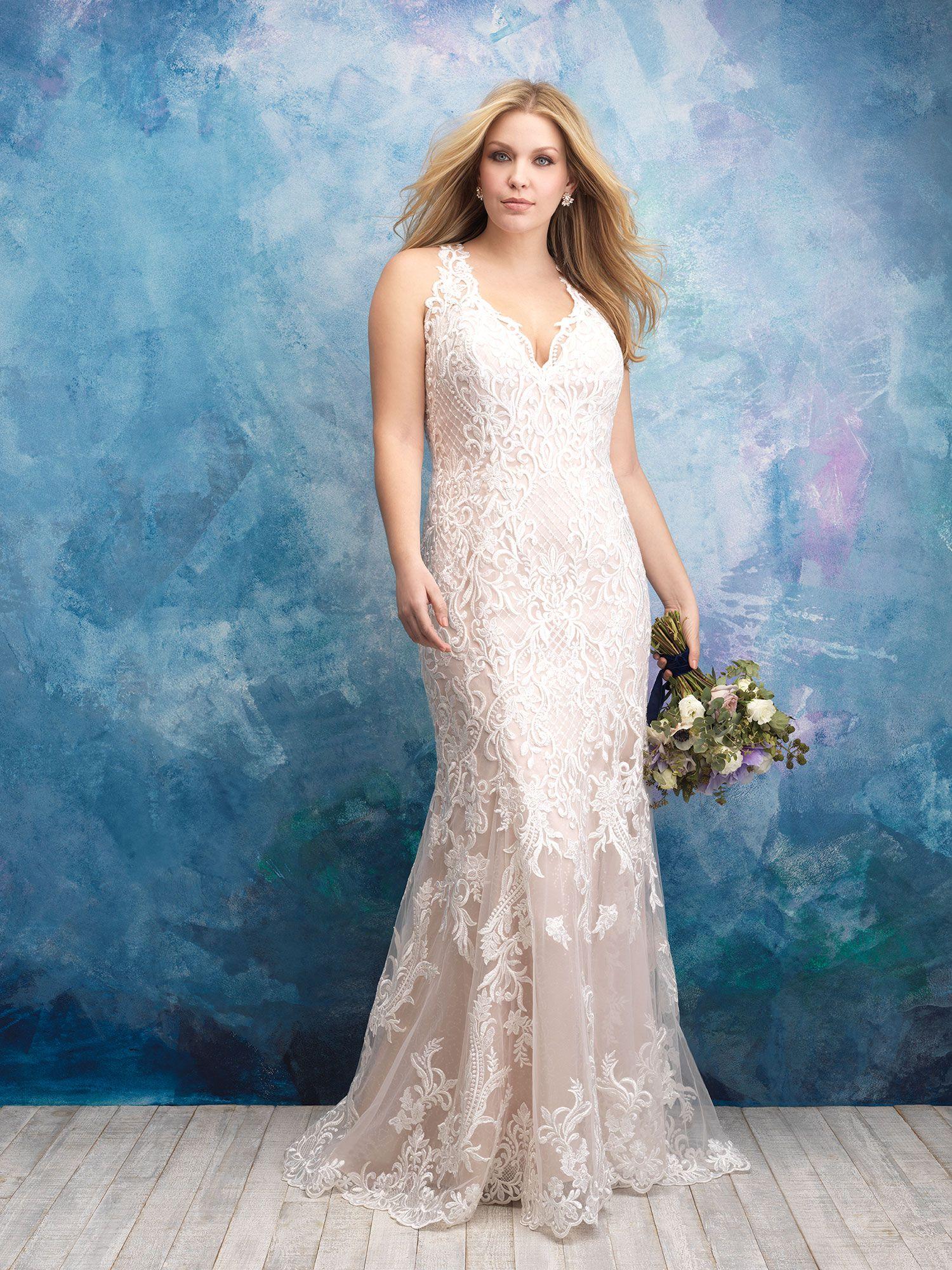 W434 - Featured photo | Plus size wedding dresses! | Pinterest ...