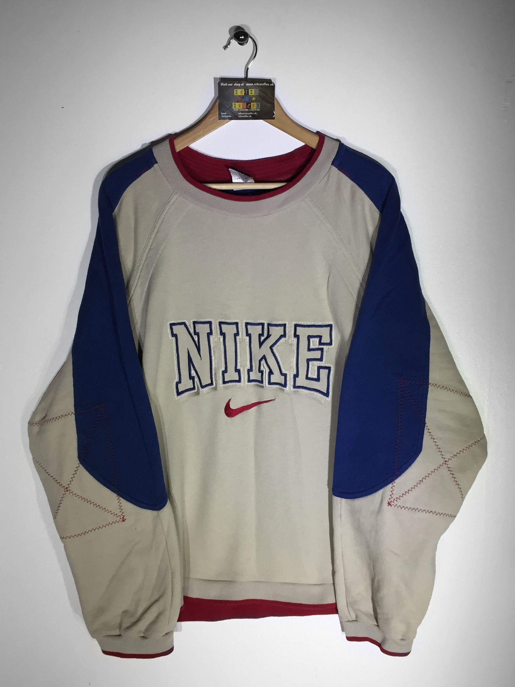 but Website➡ Sweatshirt Large Oversized£34 Nike Www Fits Size SMGUpVzq
