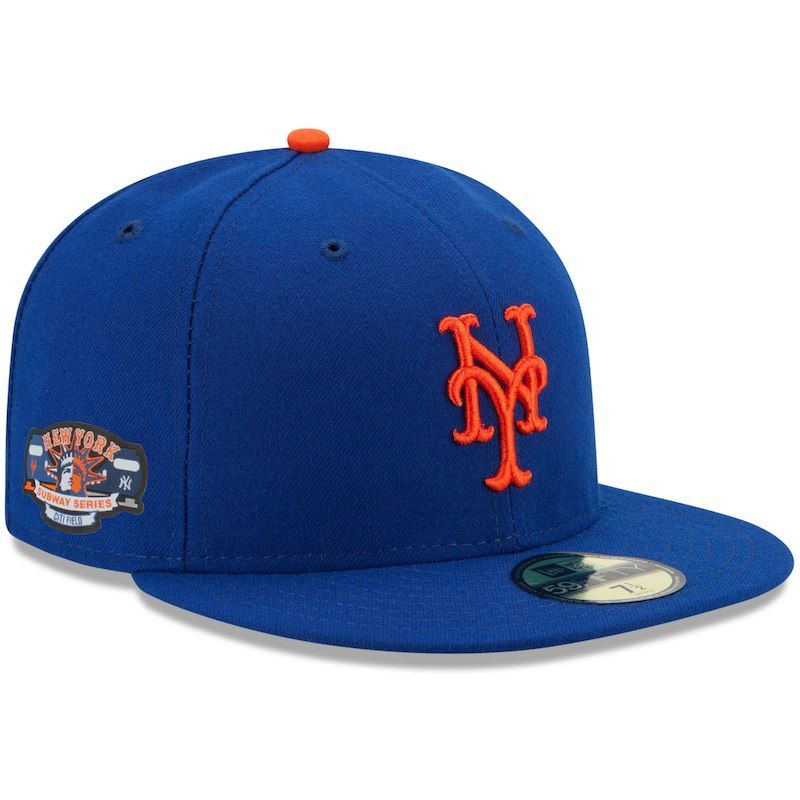wholesale dealer 1e594 0e047 New York Mets New Era Subway Series 59FIFTY Fitted Hat – Royal