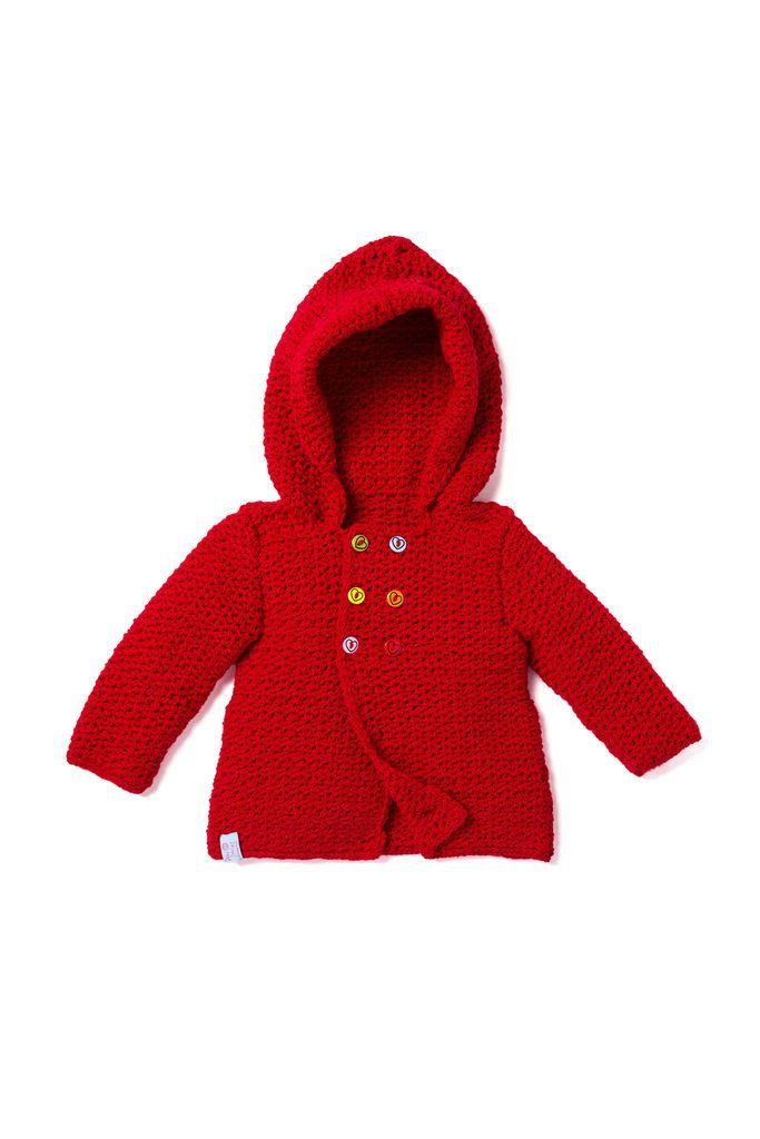 Baby Häkeljacke Mit Kapuze Einfach Nachzuarbeiten Häkeln Für