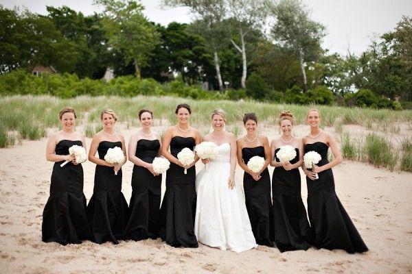 Unique Bridesmaid Dresses | Black bridesmaids and Weddings