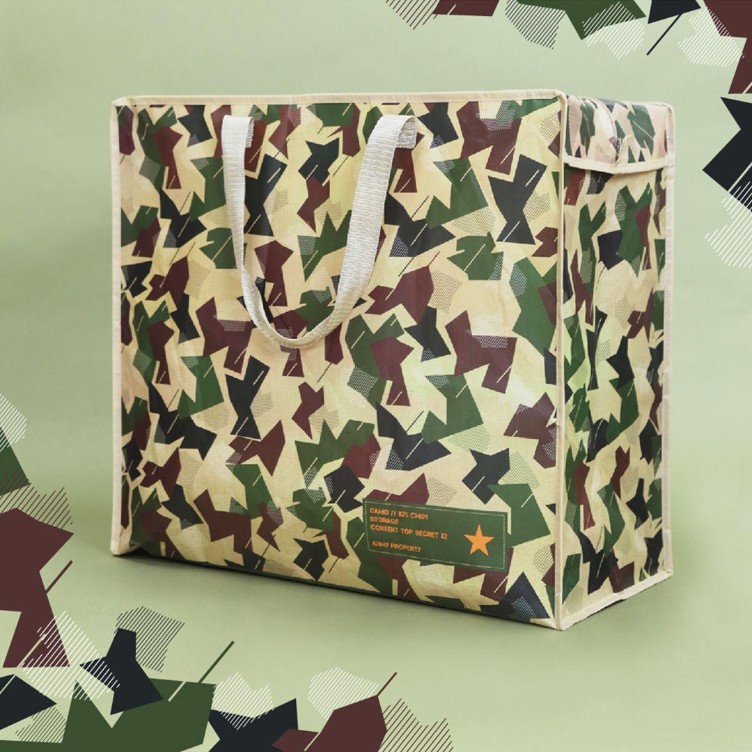 Presenter till honom Förvaringsväska i camouflage