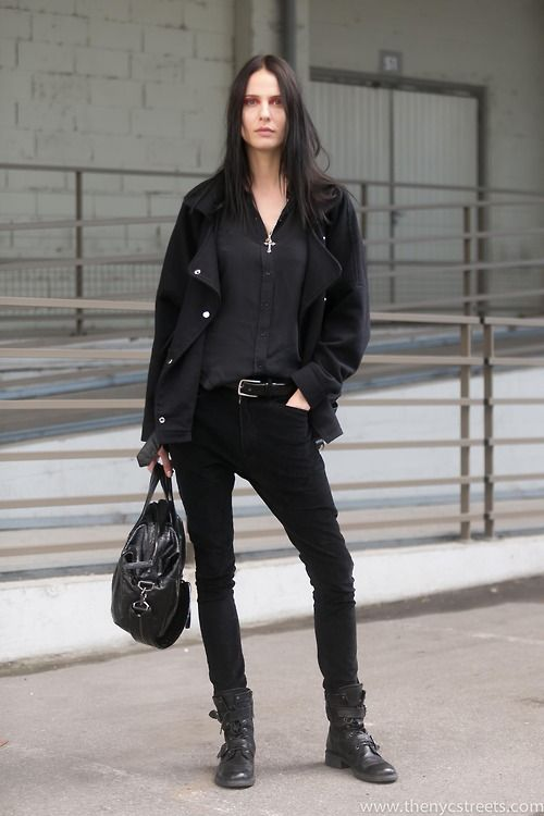 The NYC Streets / Leticia Altenbernd (Nathalie Models) after Givenchy Mens AW14 -…  // #Fashion, #FashionBlog, #FashionBlogger, #Ootd, #OutfitOfTheDay, #StreetStyle, #Style