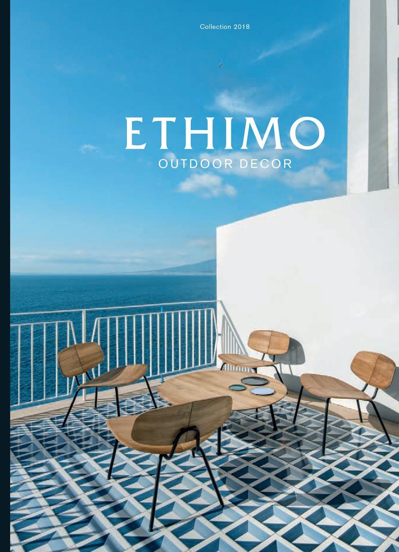 Catalog 2018 Ethimo 2018 Outdoor furniture sets, Terrace