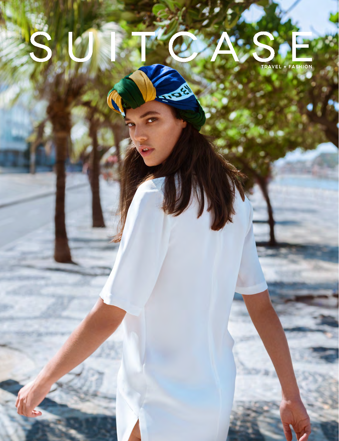 Summer bronzing trends in Suitcase magazine. Photographer Michelle Beatty. Hair by Jason Crozier of CrozNest in residence at No74 Hair & Beauty and make-up by Camilla Hewitt.