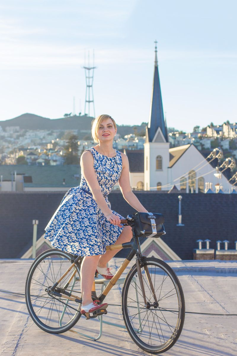Bike-Pretty9 Trusted Fashion Tips to Help You Ride Your Bike in Style   Story by ModCloth