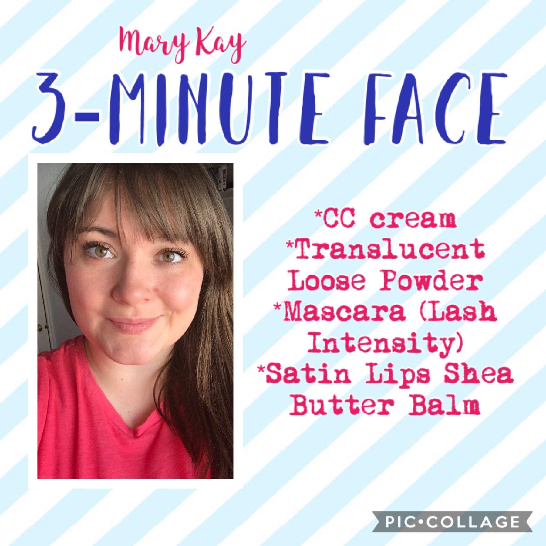Mary Kay Look Using Cc Cream Translucent Loose Powder